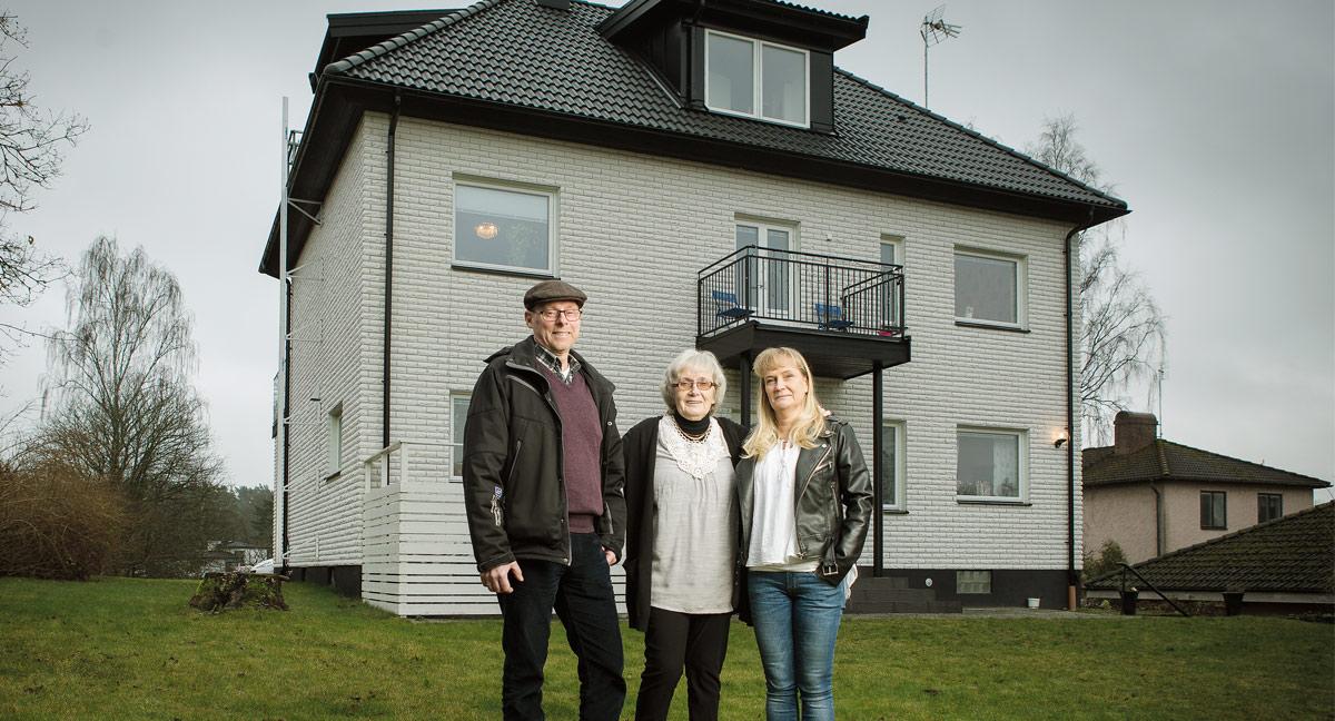privat afrikansk underkastelse nära Göteborg