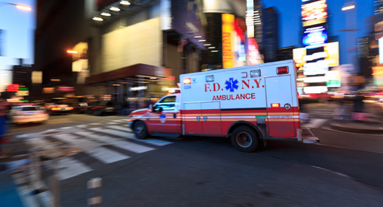 Ambulans i New York